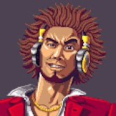 Portrait of videogame character Ichiban Kasuga