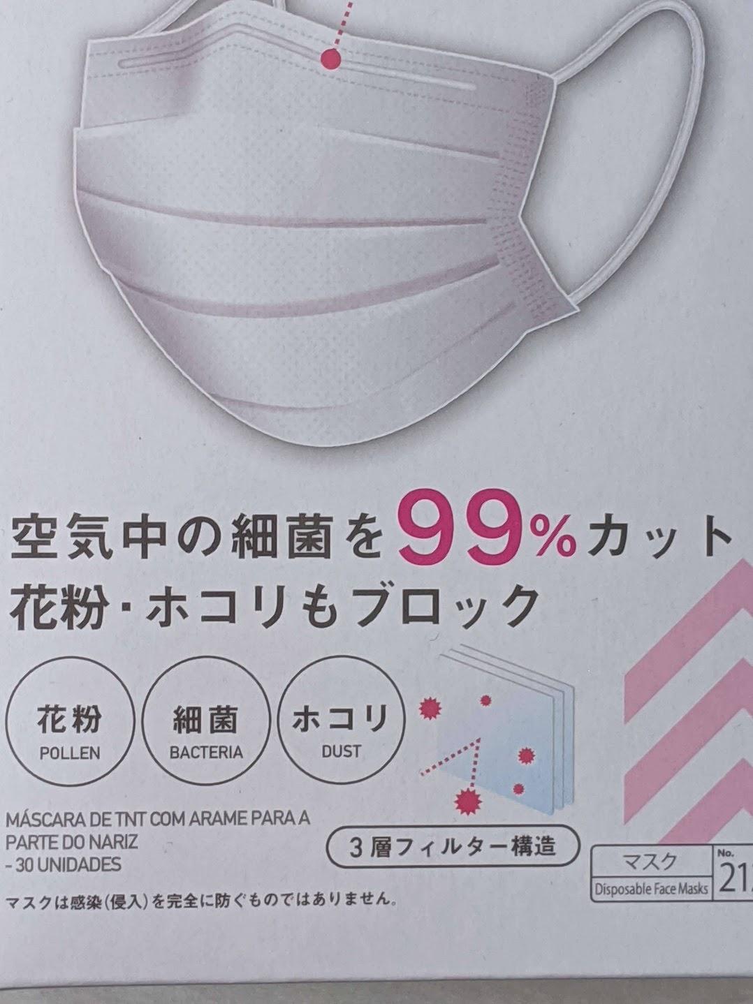 ダイソーの箱マスク