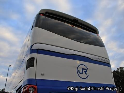 中国JRバス「出雲ドリーム博多号」 641-3955 道の駅たたらば壱番地にて_06