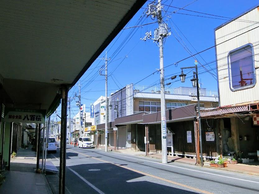 江戸崎銀座商店街