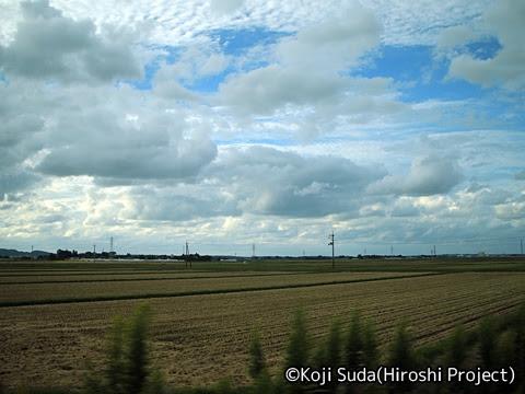 JR東日本 羽越本線 GV-E401・E402形(村上~酒田) 車窓_05