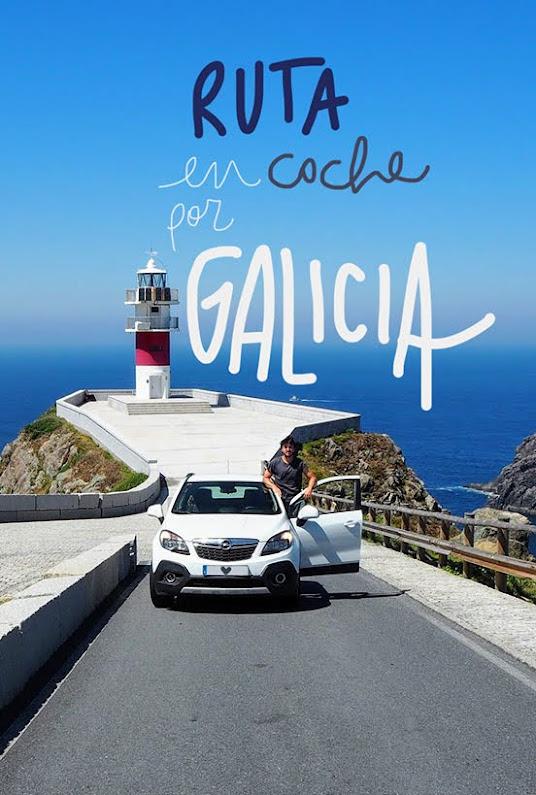 viaje en coche por Galicia