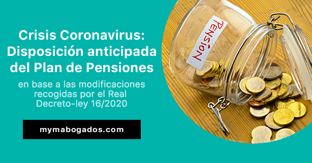 Crisis Coronavirus: Disposición anticipada del Plan de Pensiones | Melián Abogados