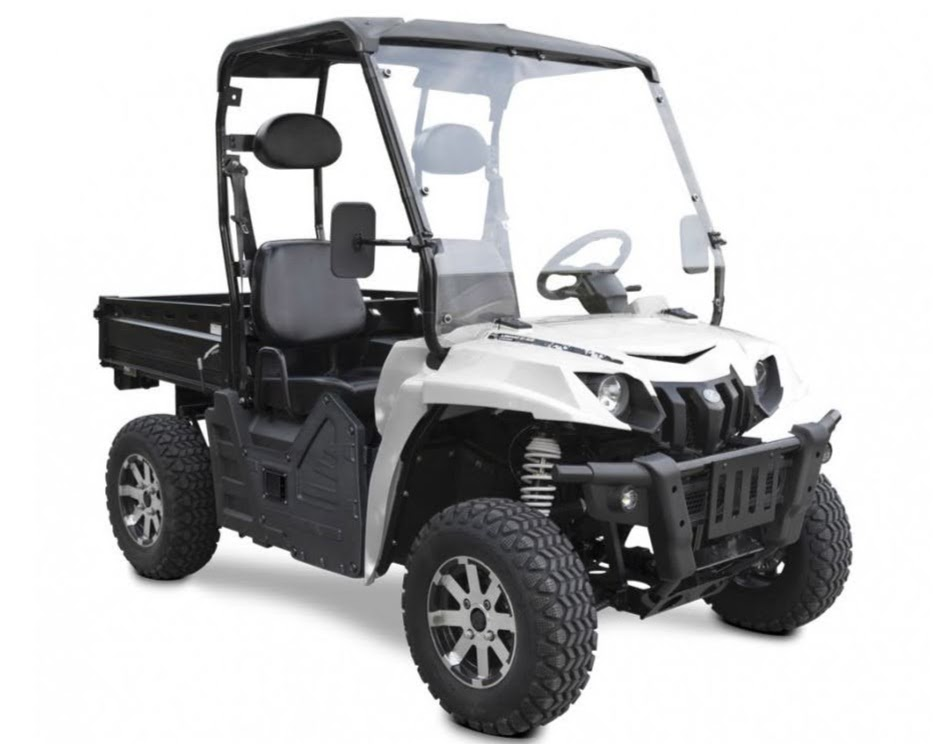 Electric E5 Farm UTV 60 Volt utility vehicle Battery Operated 2x4 E-5 side by side 2WD crossfire ute