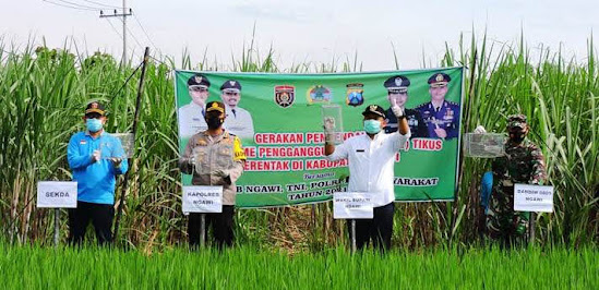 Program TBS (Trap Barrier System) di Ngawi
