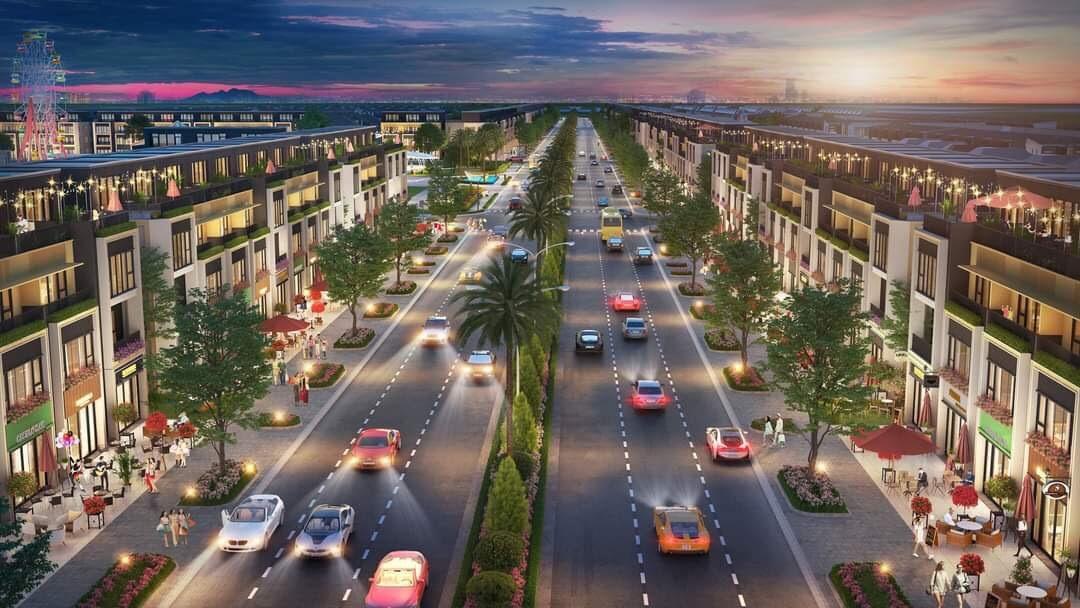 Khung cảnh thị xã Thái Hòa trong tương lai gần