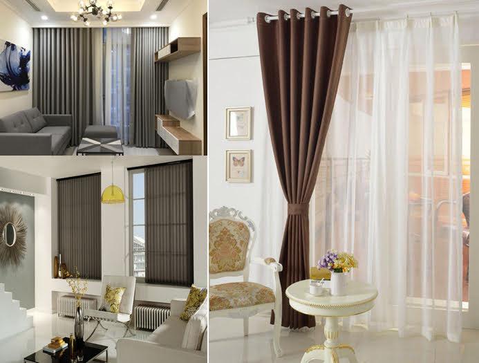 Mẫu Rèm cửa phòng khách đẹp, sang trọng & lịch lãm