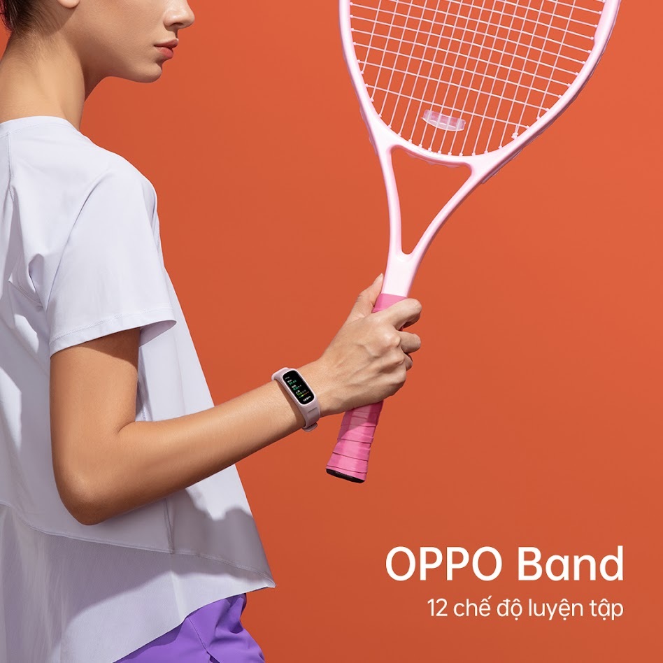 12 chế độ luyện tập của OPPO Band