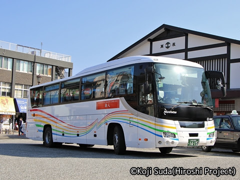 西鉄 太宰府ライナーバス「旅人」 〇甘1464