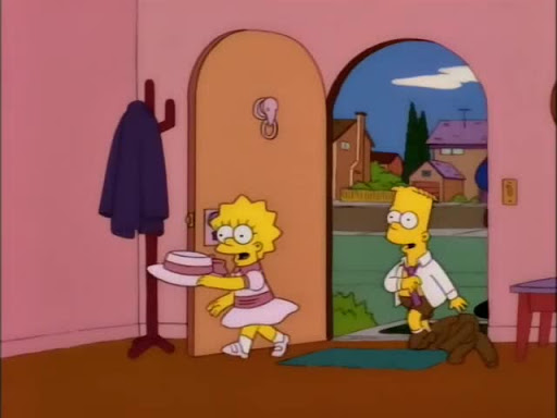 Los Simpsons 8x22 Pregúntale a Marge