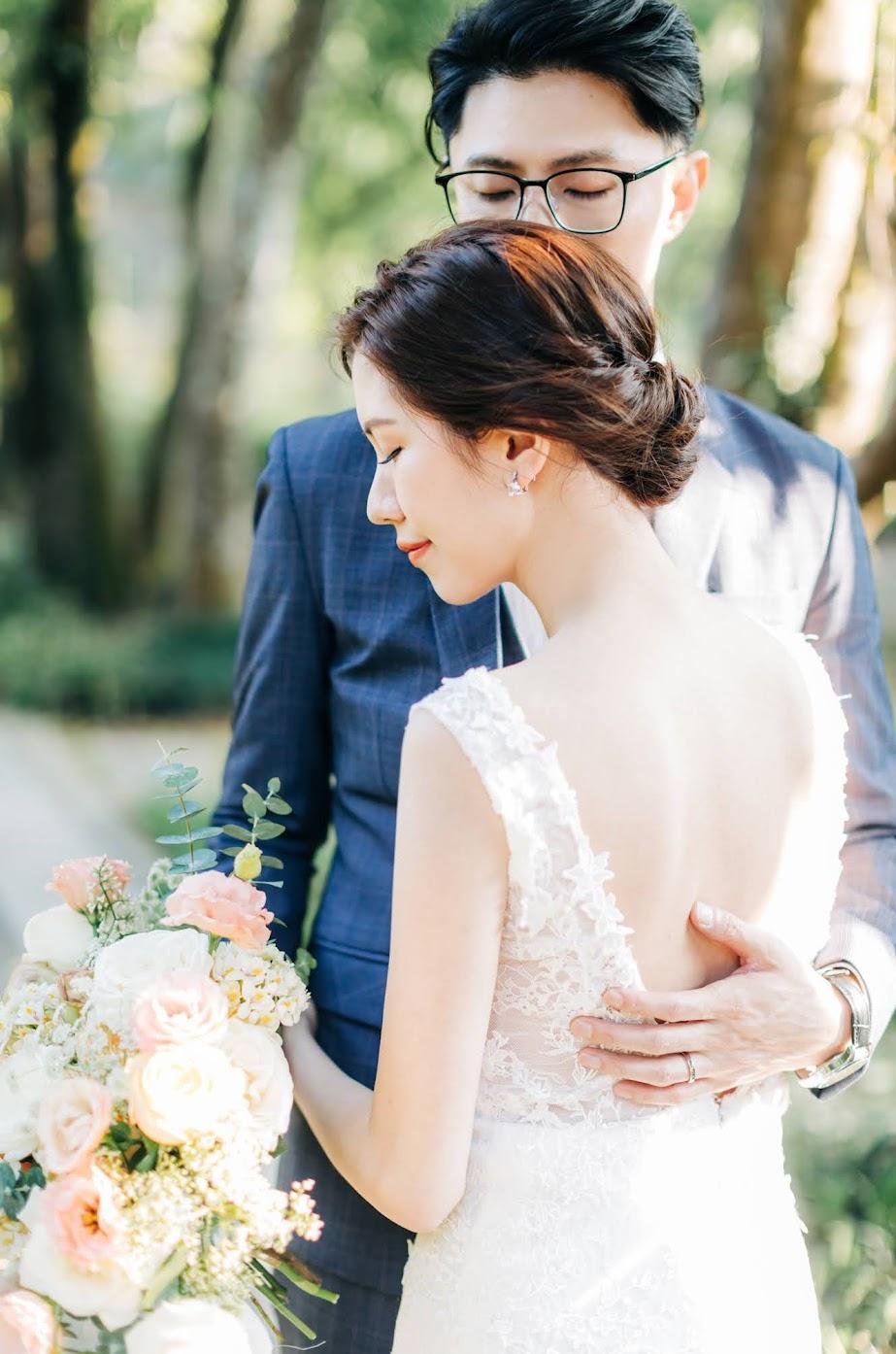 念念婚紗 | 優雅簡約美式逐光婚紗