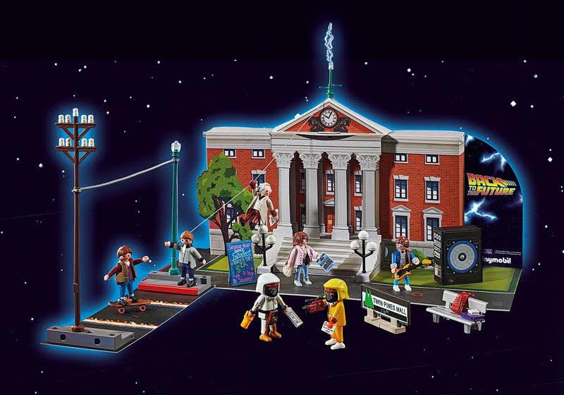 "Contenido real de Playmobil® 70574 Calendario de Adviento ""Back to the Future"""