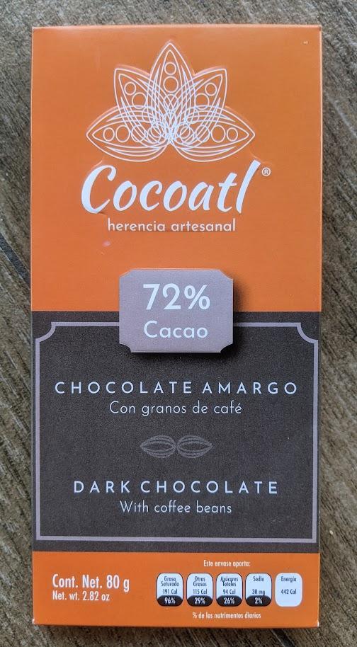 72% cocoatl coffee bar