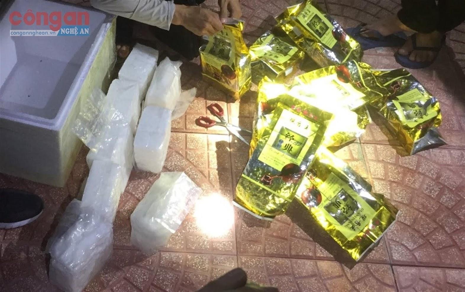 Tang vật  ma túy trong  chuyên án