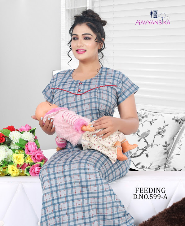 Kavyansika Vol 599 Feeding Night Gown Catalog Lowest Price