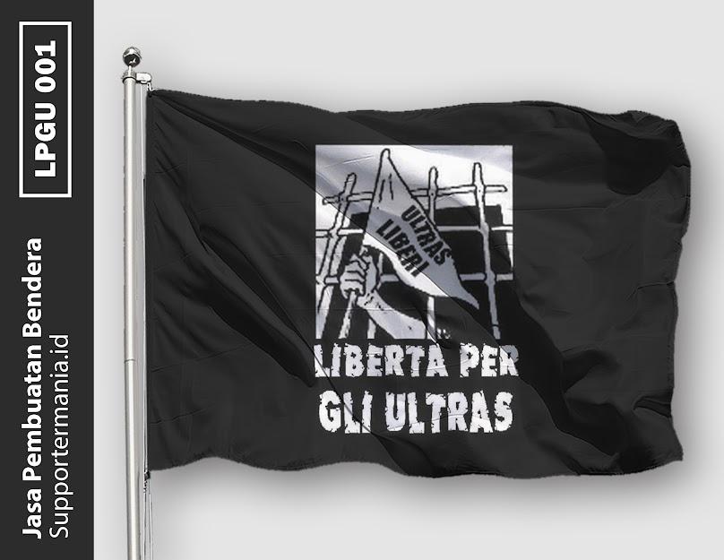 Desain Bendera atau Mini Flag Liberta Per Gli Ultras
