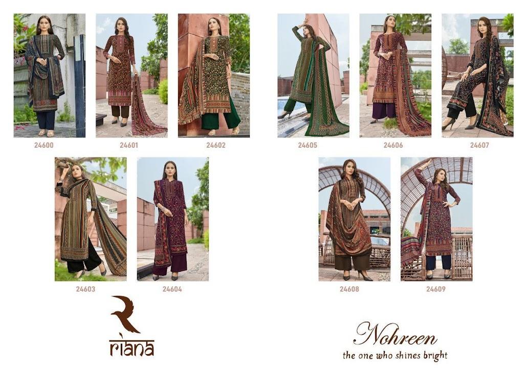 Nohreen Riana Dress Material Manufacturer Wholesaler