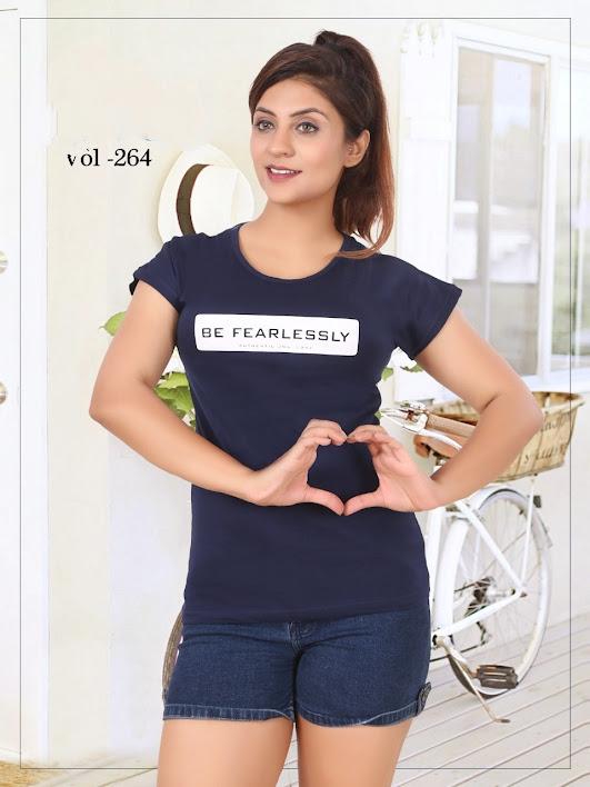 Lady Hill Vol 264 Kavya Girls Tshirt Manufacturer Wholesaler
