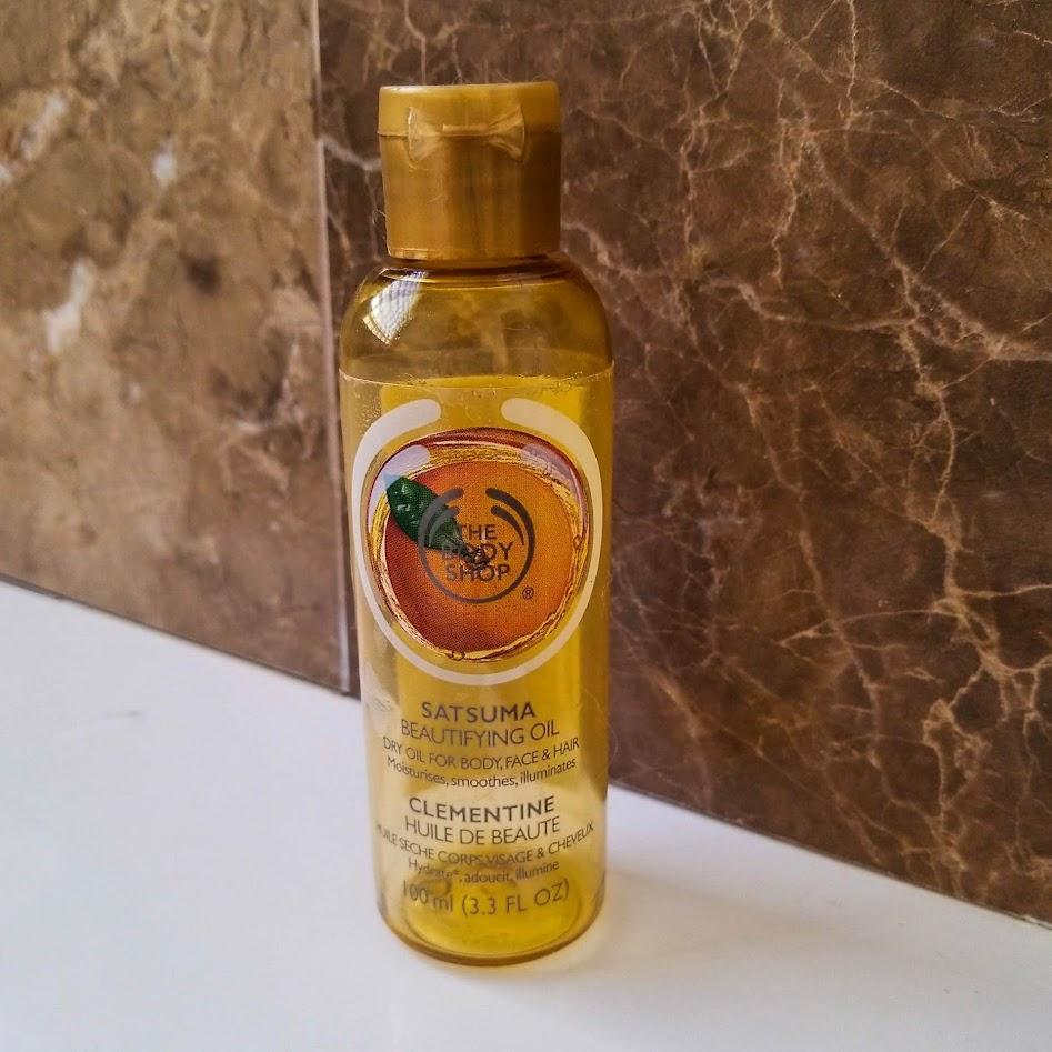 The Body Shop Satsuma Beautifying Oil