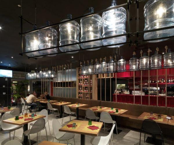thiết kế quán ăn nhanh