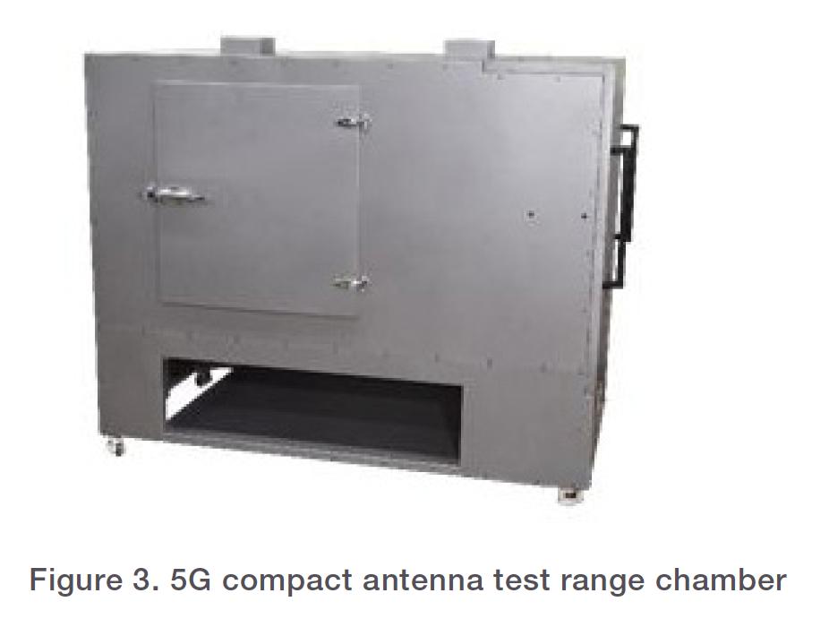 Figure 3. 5G compact antenna test range chamber