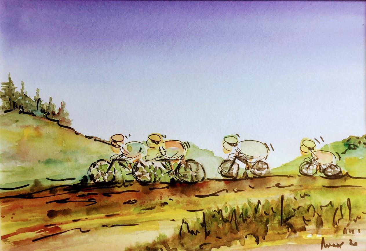 Les cyclistes, fermez-là!