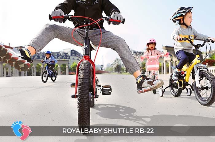 Xe đạp trẻ em Royal Baby Shuttle RB-B22 10