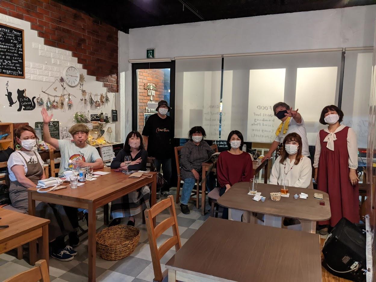 9月17日 北上尾T'palにて植竹企画「秋の気配は兄貴と共に♪」