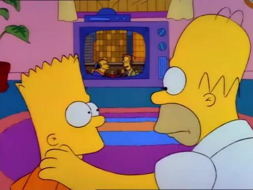 Los Simpsons 2x07 Bart contra el dia de gracias