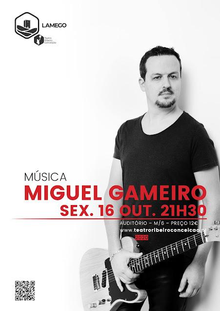 Miguel Gameiro em formato acústico esta sexta no TRC