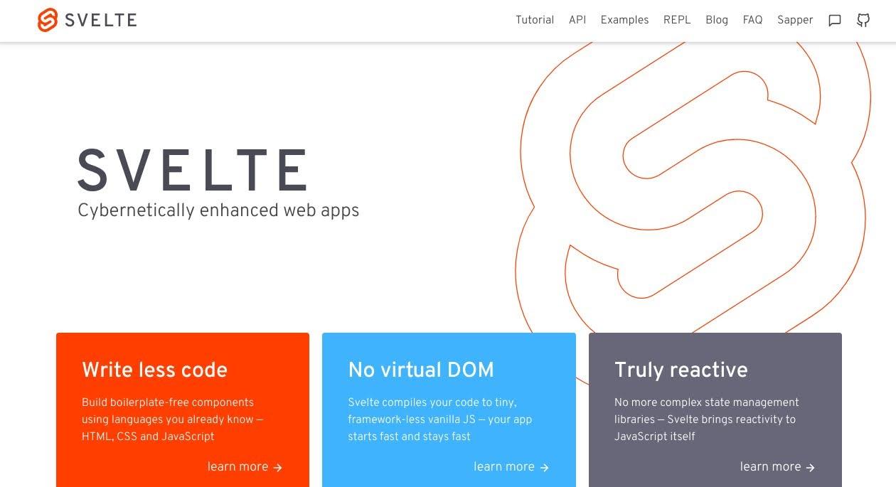 Svelte Web site