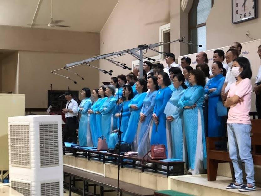 Sinh nhật Đức Mẹ: Hội Legio và ca đoàn Thiên Thanh mừng bổn mạng