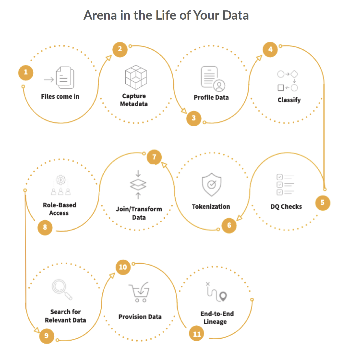 Arena in the Life of Your Data