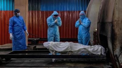 Akibat Virus Corona, dalam sehari 2 Ribu kasus kematian di India