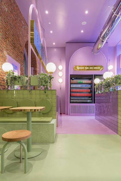 thiết kế cửa hàng ăn uống