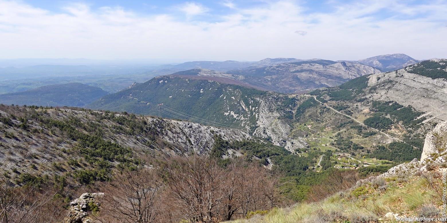 Vue sur Escragnolles