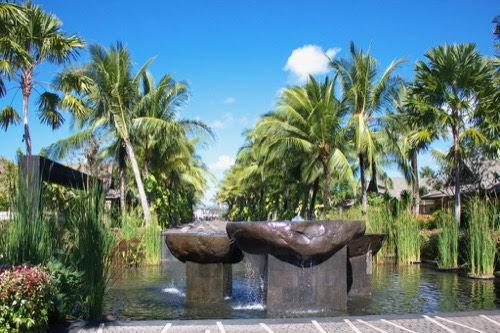 バリ島の好きなホテル。【「セントレジス ・バリリゾート」外観・ガーデン・アート編】