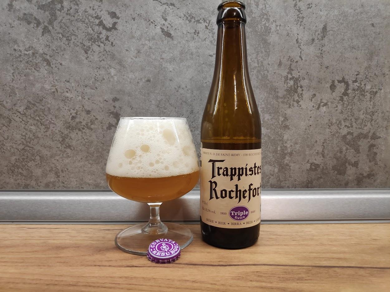 Trappistes Rochefort Triple Extra: монахи из Рошфора выпустили светлое!