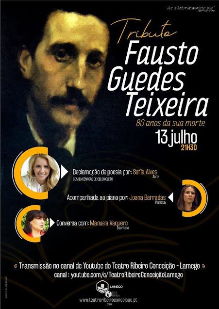 Lamego presta tributo a Fausto Guedes Teixeira