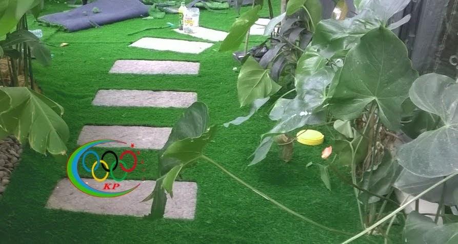 Áp dụng rộng rãi của Thảm cỏ nhựa sân vườn hiện tại