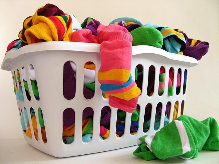 Không phân loại trước khi sấy quần áo
