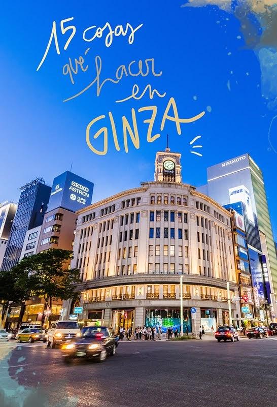 que ver y hacer en Ginza