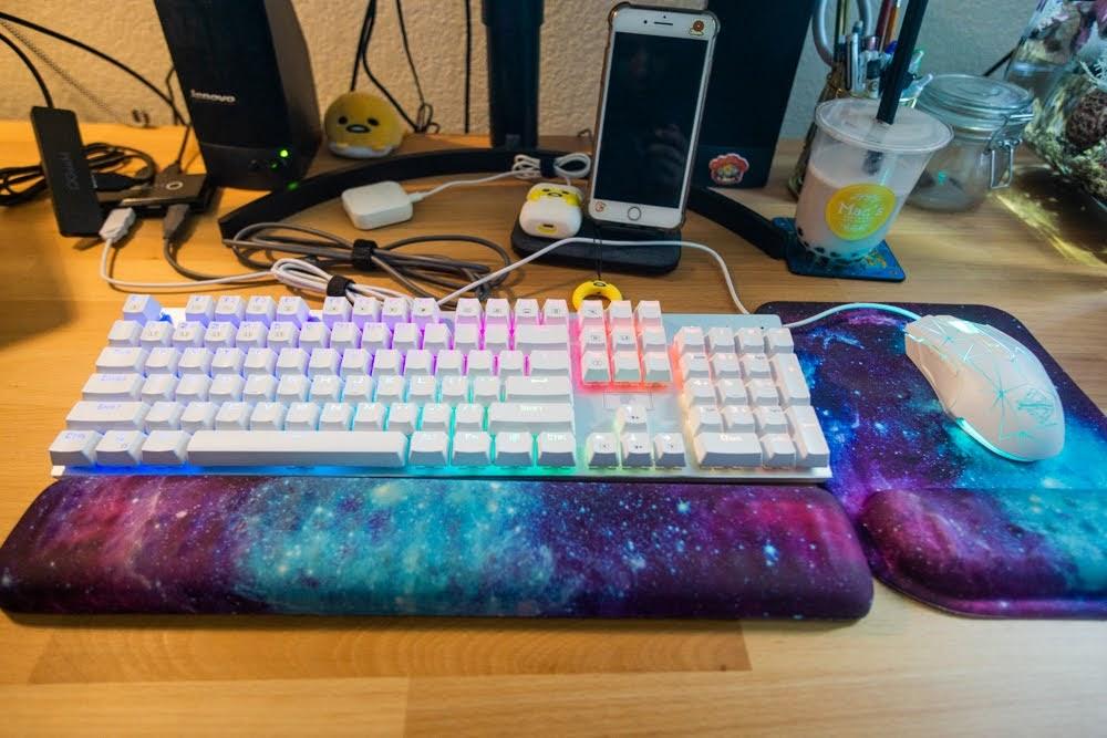Jessica's keyboard