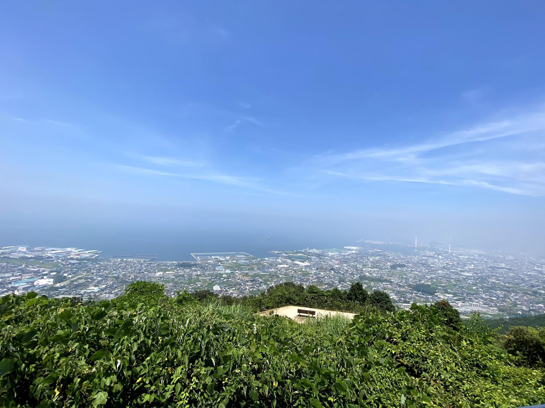 具定展望台からの眺め