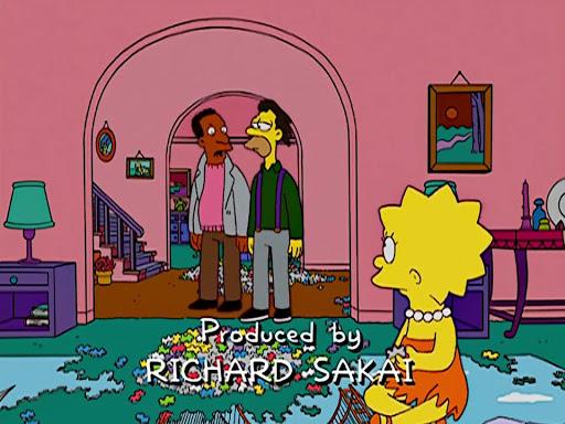 Los Simpsons 14x17 Tres gays en un condominio
