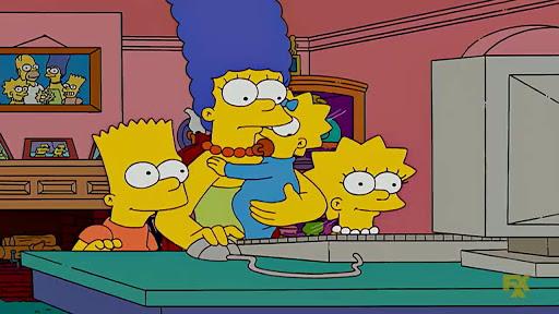 Los Simpsons 19x03 Grua de medianoche