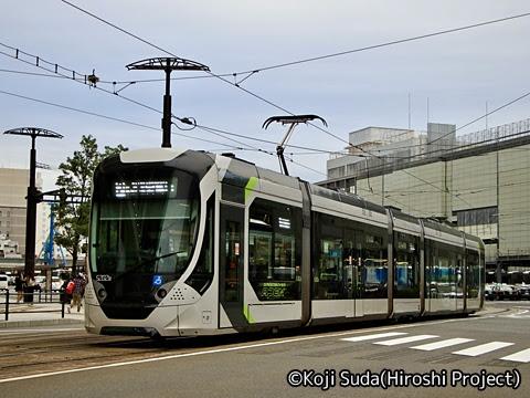 広島電鉄 5200形「Green mover APEX」