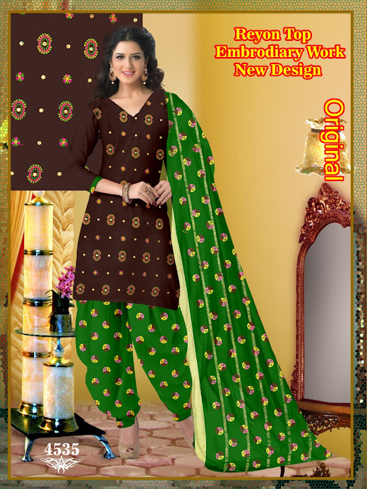 Buy Suresh Original Series 4531 To 4535 Unstitched Ladies Su