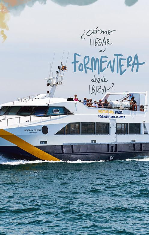 como llegar a Formentera desde Ibiza