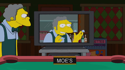 Los Simpsons 25x19 Qué esperar cuando Bart esta esperando